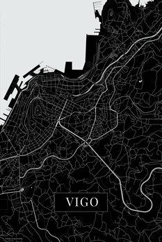 Map Vigo black