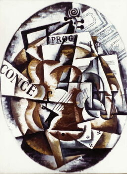 Fine Art Print Violin' (1915)