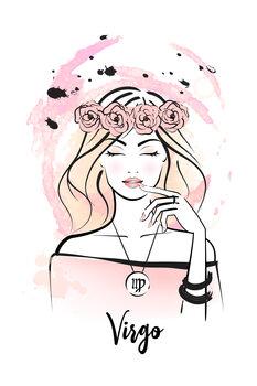Illustration Virgo