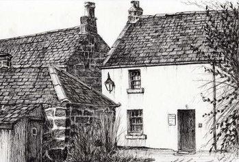 Fine Art Print W.M.Barrie's birthplace, 2007,
