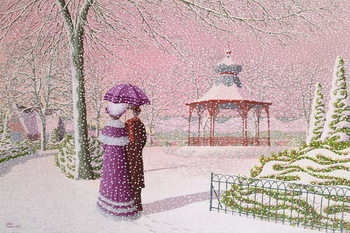 Fine Art Print Walking in the Snow