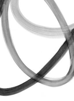 Ilustração Watercolor orbits