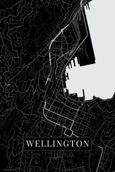Map Wellington black