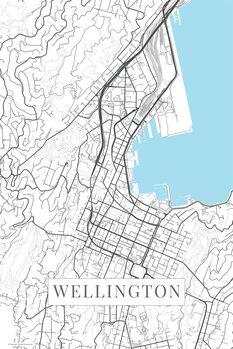 Map Wellington white