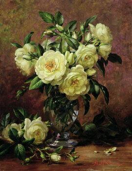 Fine Art Print White Roses