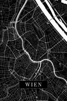 Map Wien black