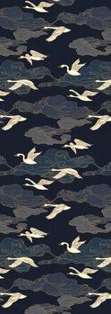 Illustration Wild Swans Midnight