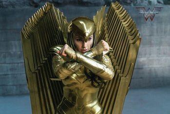 Impressão de arte Wonder Woman 84 - Golden