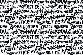 Impressão de arte Wonder Woman - Justice