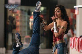 Impressão de arte Wonder Woman - Shh