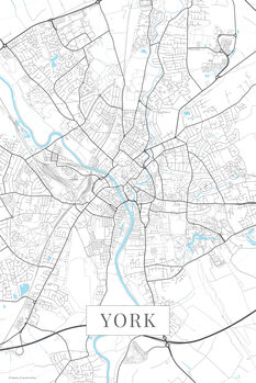 Mapa York white