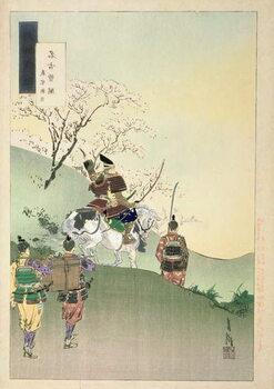 Fine Art Print Yoshiie Ason: 'The Barrier at Nakoso'