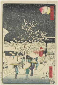 Fine Art Print Yushima Shrine, September 1862