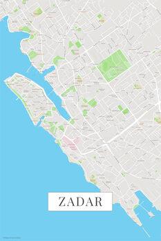 Map Zadar color
