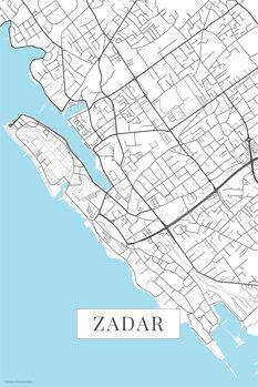 Map Zadar white