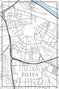 Map Žilina white