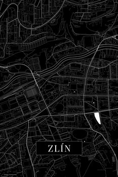 Map Zlin black