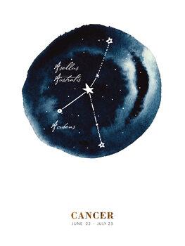 Illustration Zodiac - Cancer