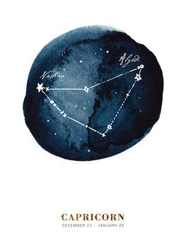 Illustration Zodiac - Capricorn