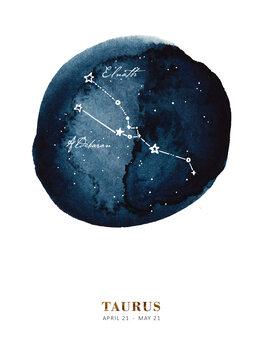 Illustration Zodiac - Taurus
