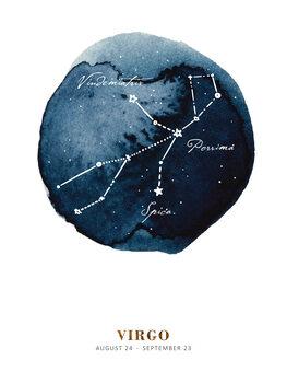 Illustration Zodiac - Virgo