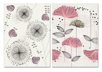 Arte moderna Art - Sketch of Flowers