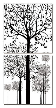 Arte moderna Painted Trees