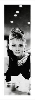 Impressão artística Audrey Hepburn - B&W