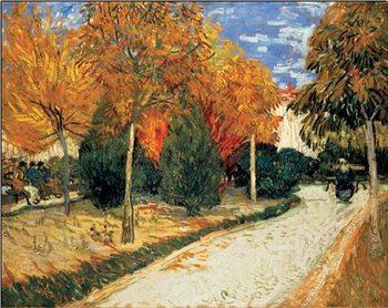 Impressão artística Autumn Garden