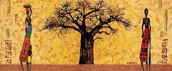 Impressão artística Baobab