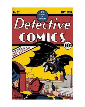 Impressão artística Batman