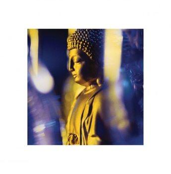 Impressão artística Blue Buddha