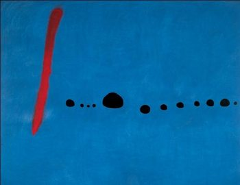 Impressão artística Blue II