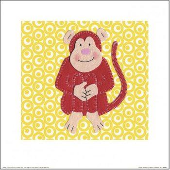 Impressão artística Catherine Colebrook - Cheeky Monkey