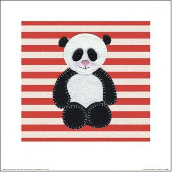 Impressão artística Catherine Colebrook - Panda