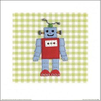 Impressão artística Catherine Colebrook - Robots Rule OK