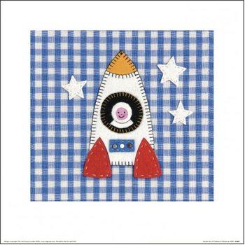 Impressão artística Catherine Colebrook - Rocket Boy