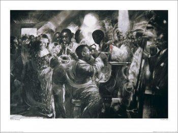 Impressão artística Charlie Mackesy - Chicken Jazz
