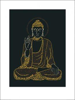 Impressão artística Citography - Buddha