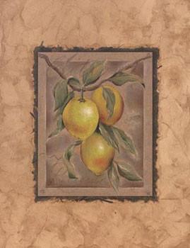 Impressão artística Citron Fructus