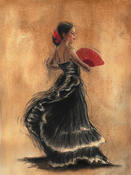 Impressão artística FLAMENCO DANCER II