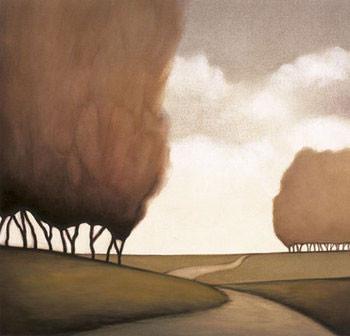 Impressão artística Forest Road II