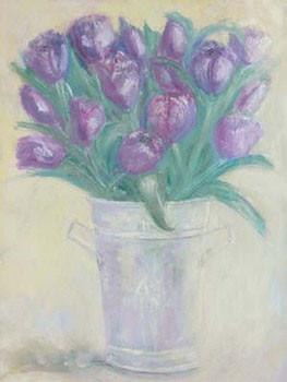 Impressão artística French Flower Buckets ll