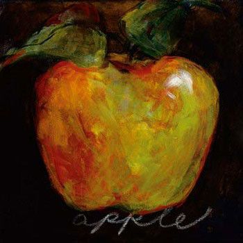 Impressão artística Green Apple