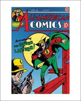 Impressão artística Green Lantern - Logo