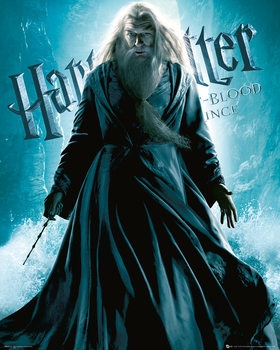 Impressão artística Harry Potter and the Half-Blood Prince - Albus Dumbledore Standing