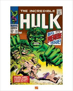 Impressão artística Hulk