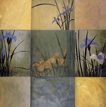 Impressão artística Iris Nine Patch