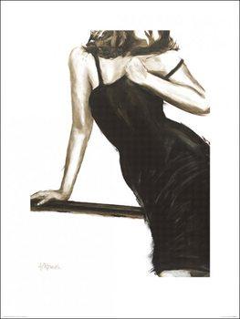 Impressão artística Janel Eleftherakis - Little Black Dress III