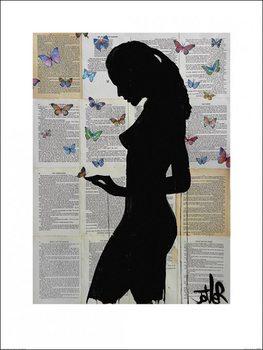 Impressão artística Loui Jover - Butterflies
